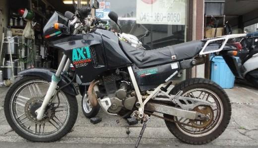 AX-1不動車の買取事例