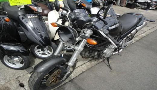 ドゥカティモンスター400IE(DucatiM400IE)事故車