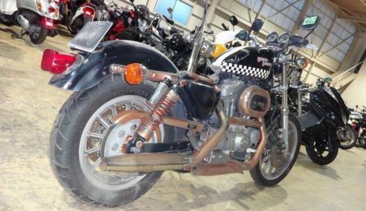 錆び錆びでエンジンかからないハーレーXL1200S買取り事例