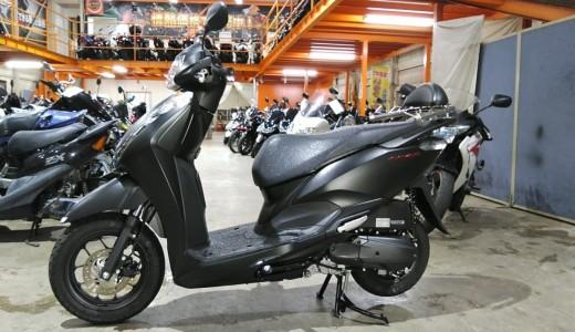 17万円の査定額で買取した2020年モデルのリード125