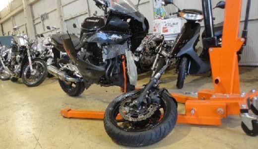 Ninja400R ABS事故車の買取価格