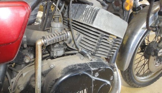 エンジン駆動周りの腐食