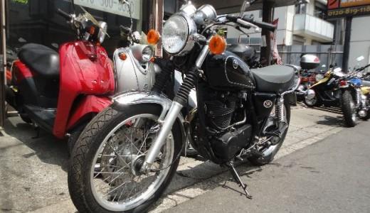 買取した2002年モデルのSR400