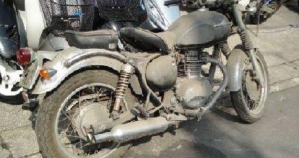 不動車バイク