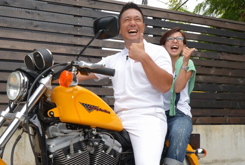パッション屋良とバイク