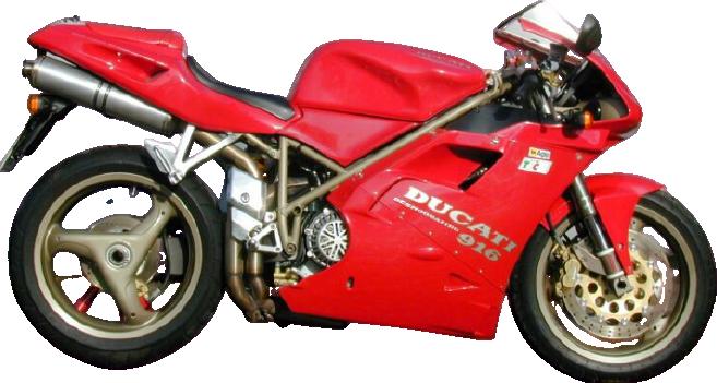 Ducati 916ビポスト(Biposto)