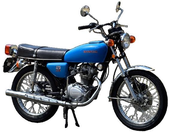 【1975年式】ベンリィ CB125JX