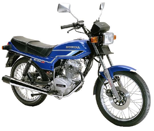 【1980~82年式】CB125JX
