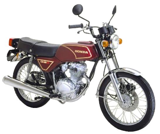 ベンリィ CB125JX【1972~82年式】