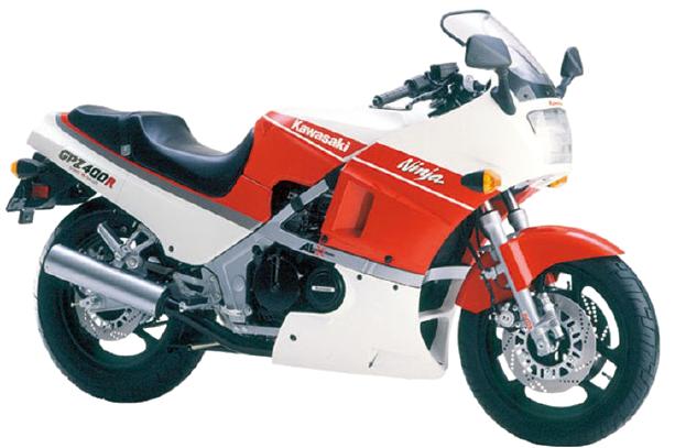 【1986年式 D2】GPZ400R