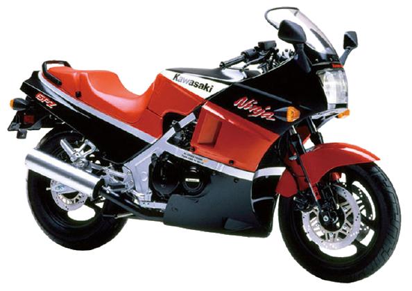 【1989年式 D4】GPZ400R