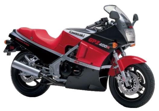 【1985年式 D1】GPZ400R