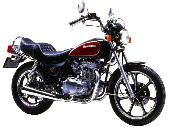【1983~84年式】Z400LTD belt drive